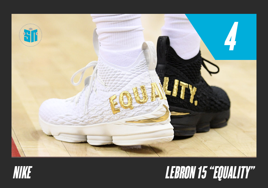 "75fb5ac1eb165c Nike LeBron 15 ""Equality"" LeBron James is more than an athlete"