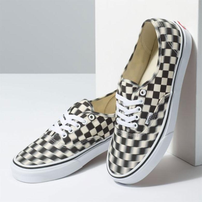 Vans Blur Checkerboard Authentic Shoes Release Info  c5402b715