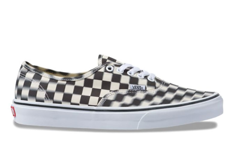 Vans Blur Checkerboard Authentic Shoes