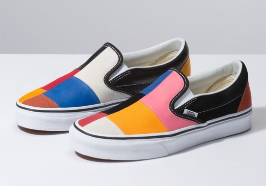 Vans Introduces Another Patchwork-Style Slip On