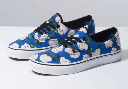 "The Vans ""Romantic Floral"" Pack Is Available Now"