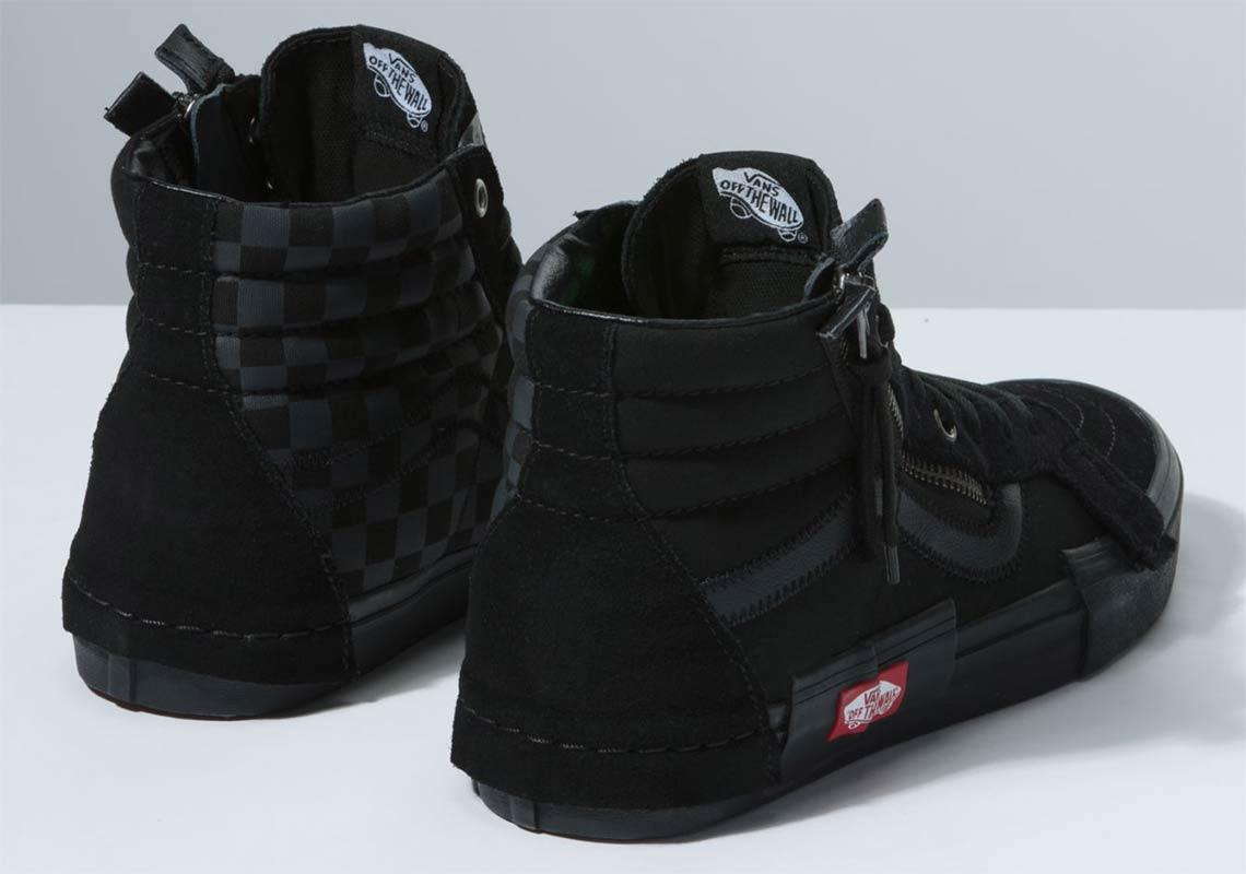 Vans Sk8 Hi Decon Black Checkerboard Store List