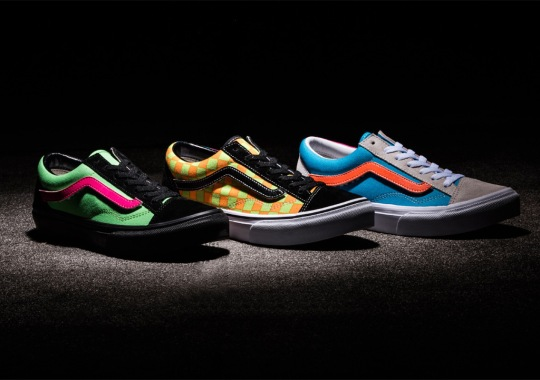This Vans 36 OG Pack Of Neons And Removable Logos Is Dropping In The New Year