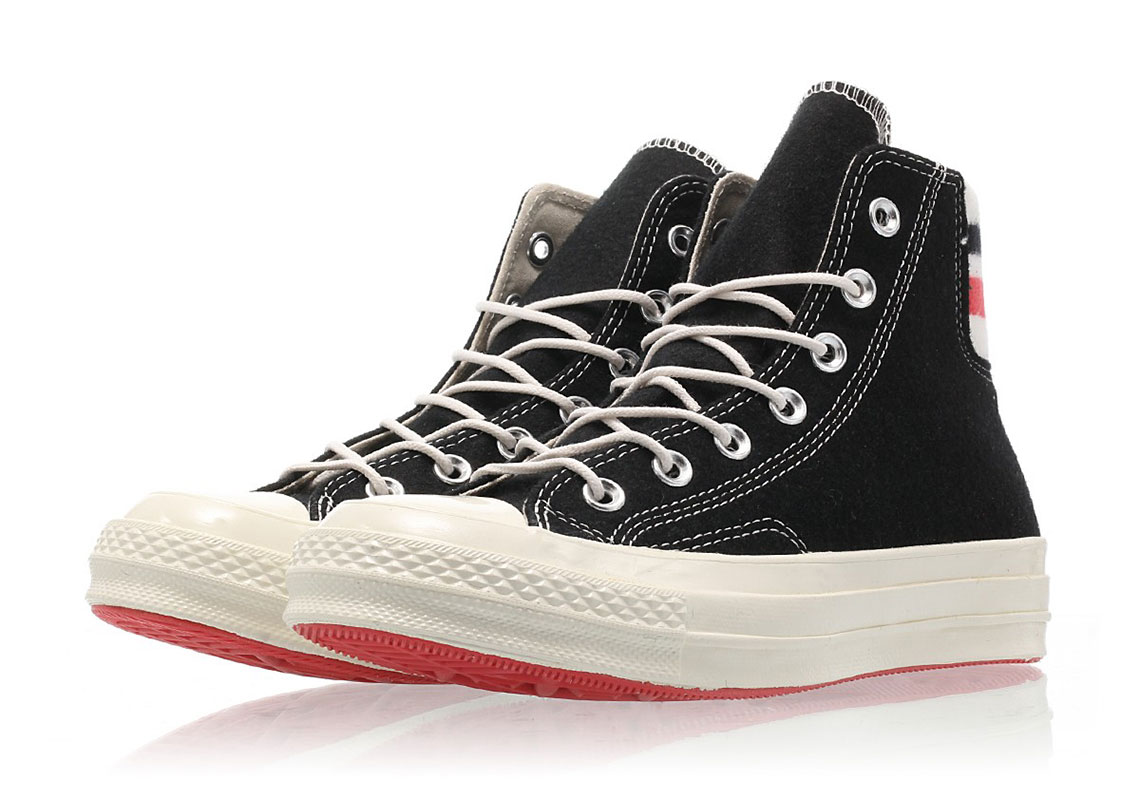 c7d83a409520d6 Converse Chuck 70  90. Color  Black Sedona Red Egret Style Code  163363C