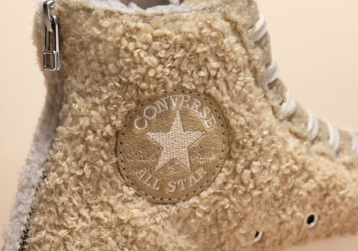 CLOT And Converse Team Up For Fluffy Chuck 70