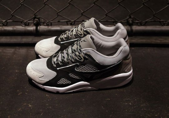 "Mizuno Teams with WHIZ Limited And mita For The Sky Medal ""Greyscale"""