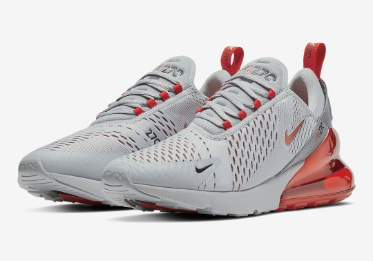 A Nike Air Max 270 For Ohio State Fans Is Dropping Soon