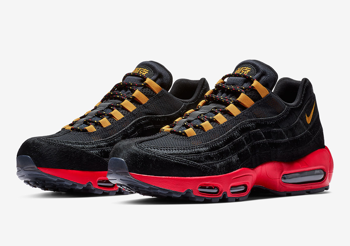 reputable site 0832f 1e76e Nike Celebrates Chinese New Year With This Hairy Air Max 95