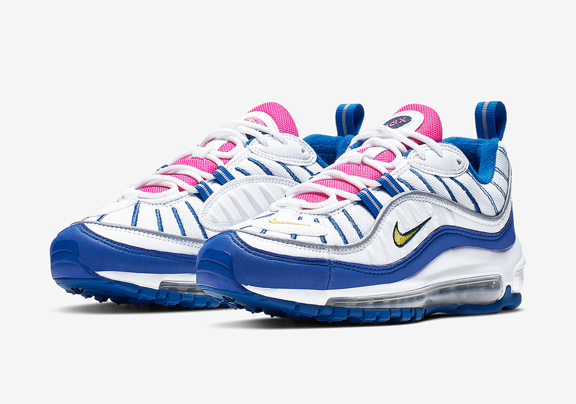 250e6049d5c97e The Nike Air Max 98 Arrives In A Vibrant GS Colorway
