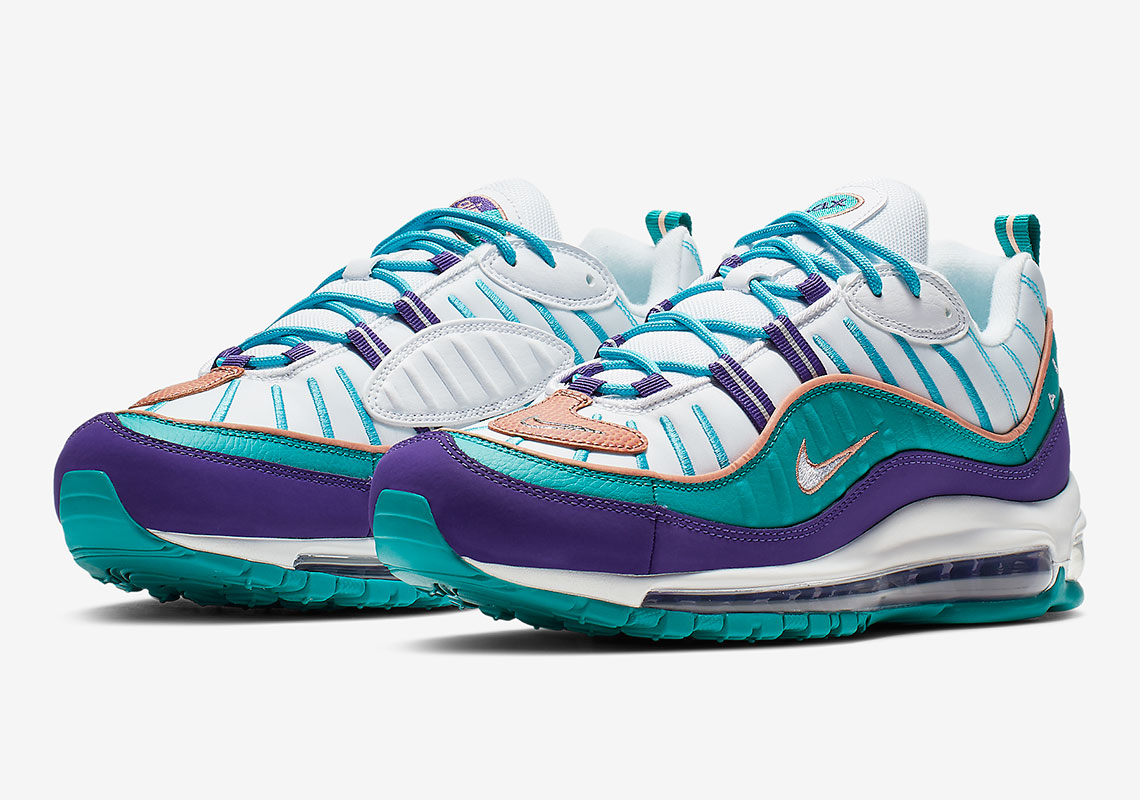 296f624b9843 This Nike Air Max 98 Celebrates The NBA All-Star Game In Charlotte