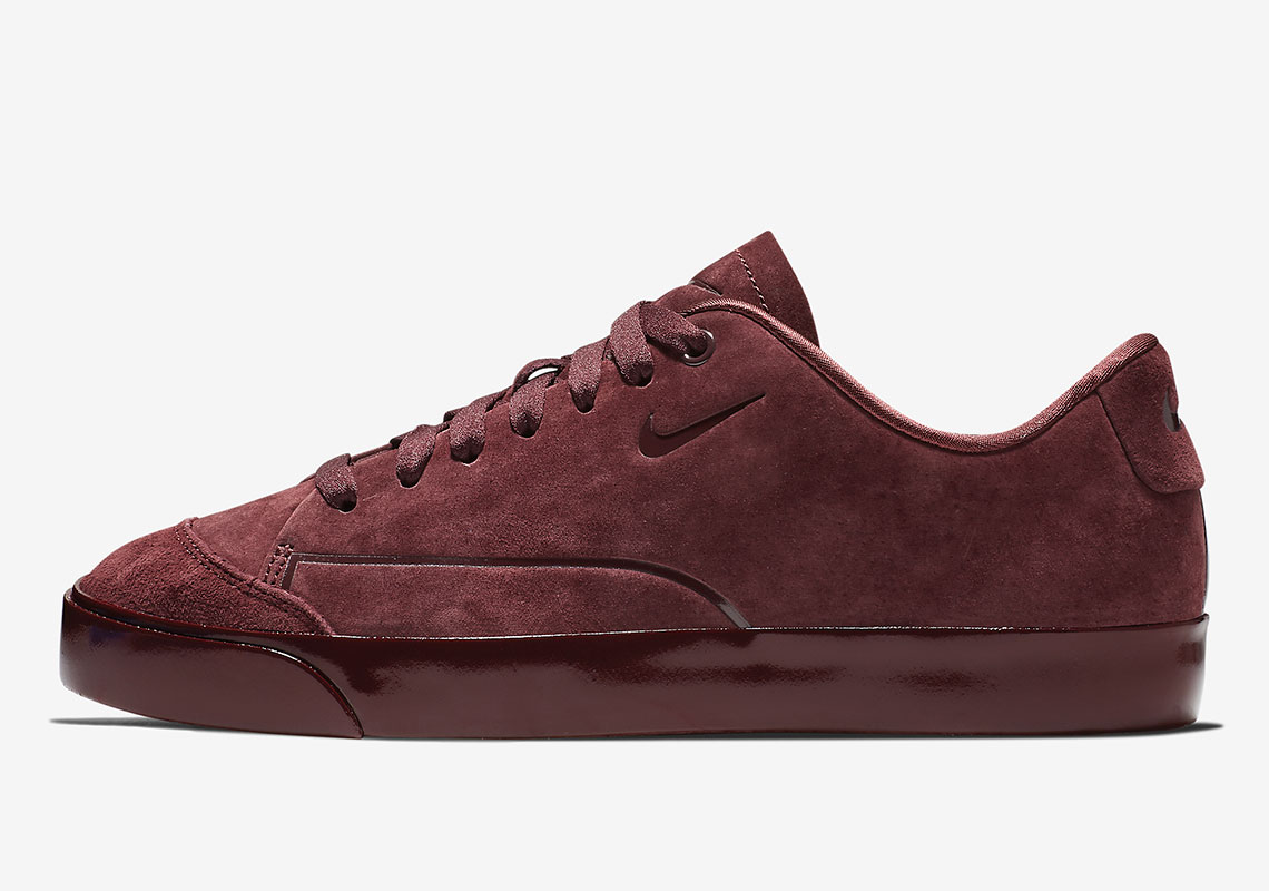 The Nike Blazer City Low For Women Arrives In Burgundy Suede 763d1b2c3