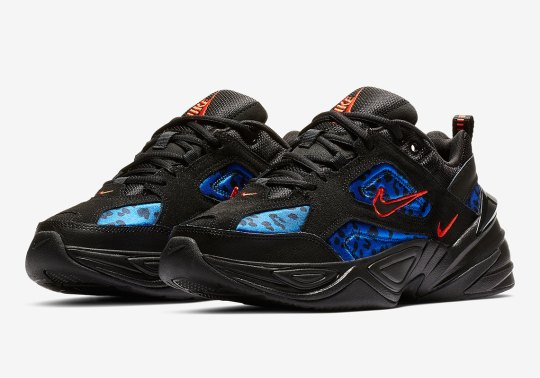 The Nike M2K Tekno Adds In An Underlying Animal Print