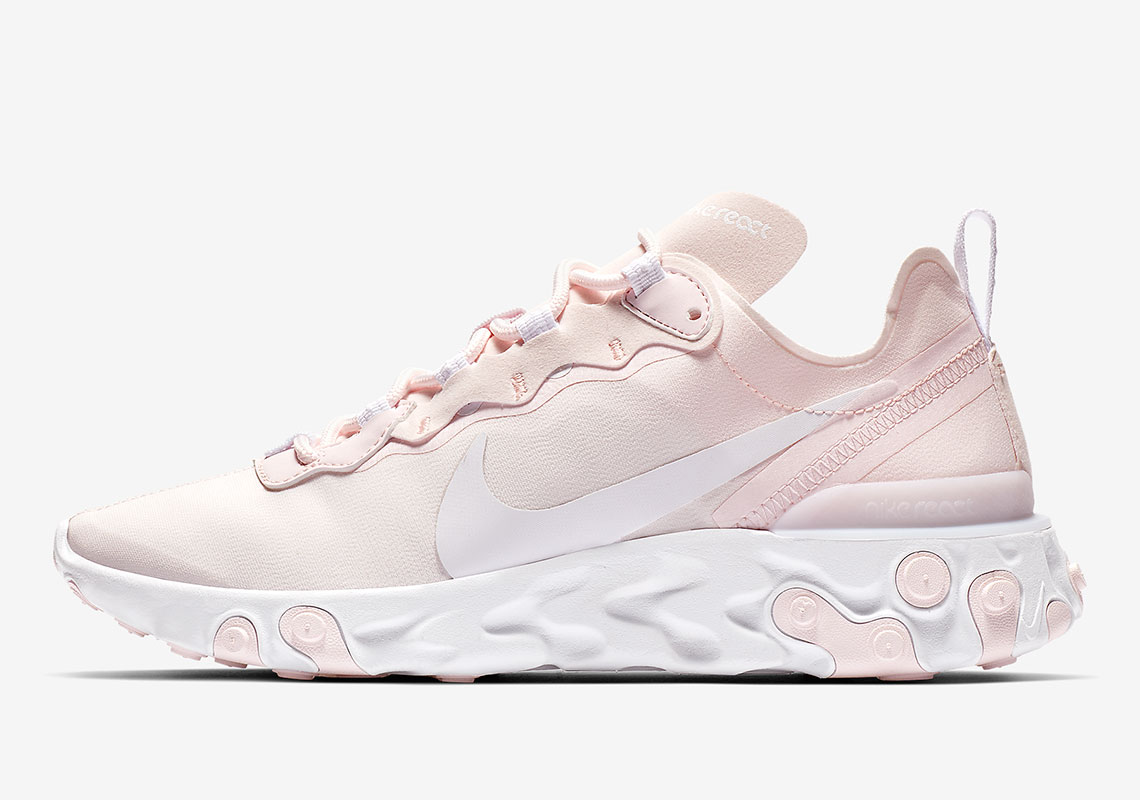 62c9922c1 Nike React Element 55 Pale Pink BQ2728-600 Store List