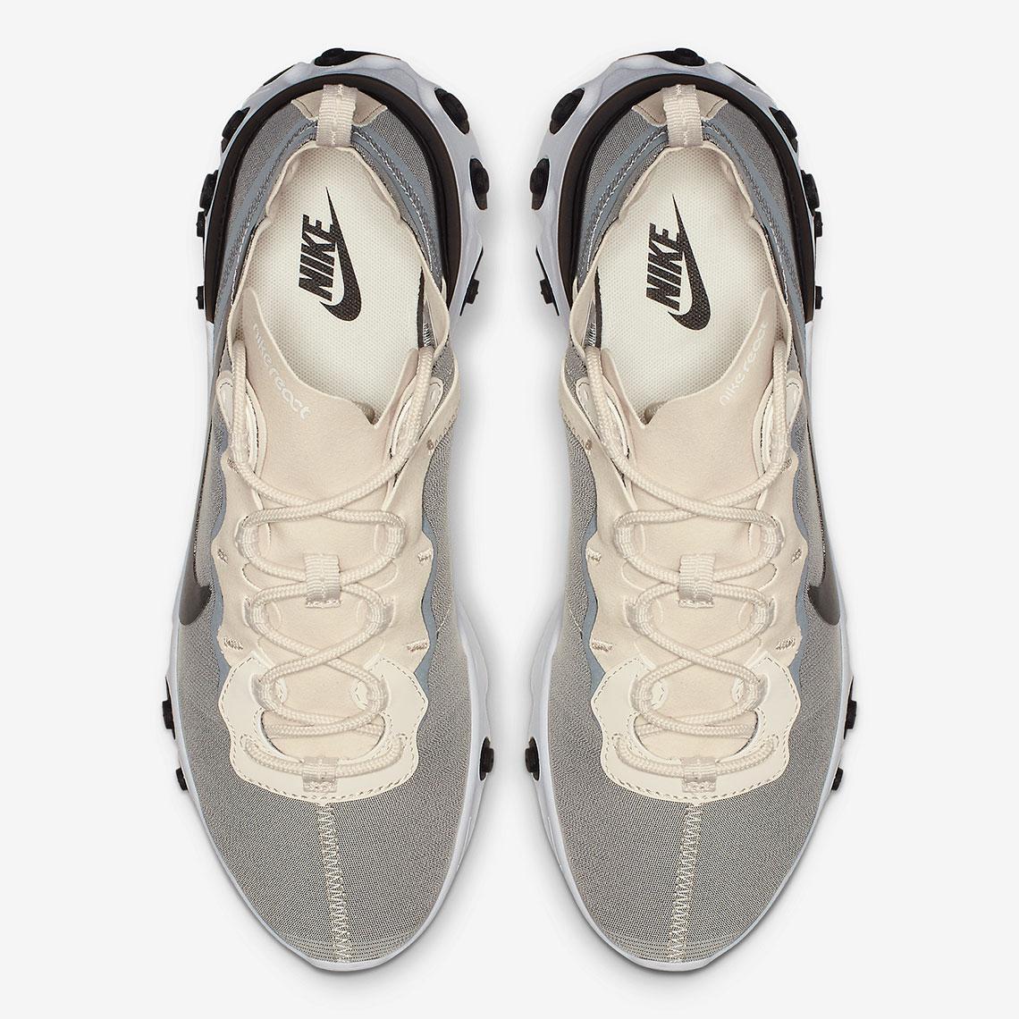 80435ce918f0 Nike React Element 55 BQ6166-100 Release Info