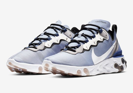 The Nike React Element 55 Continues To Impress With New Light Blue Colorway