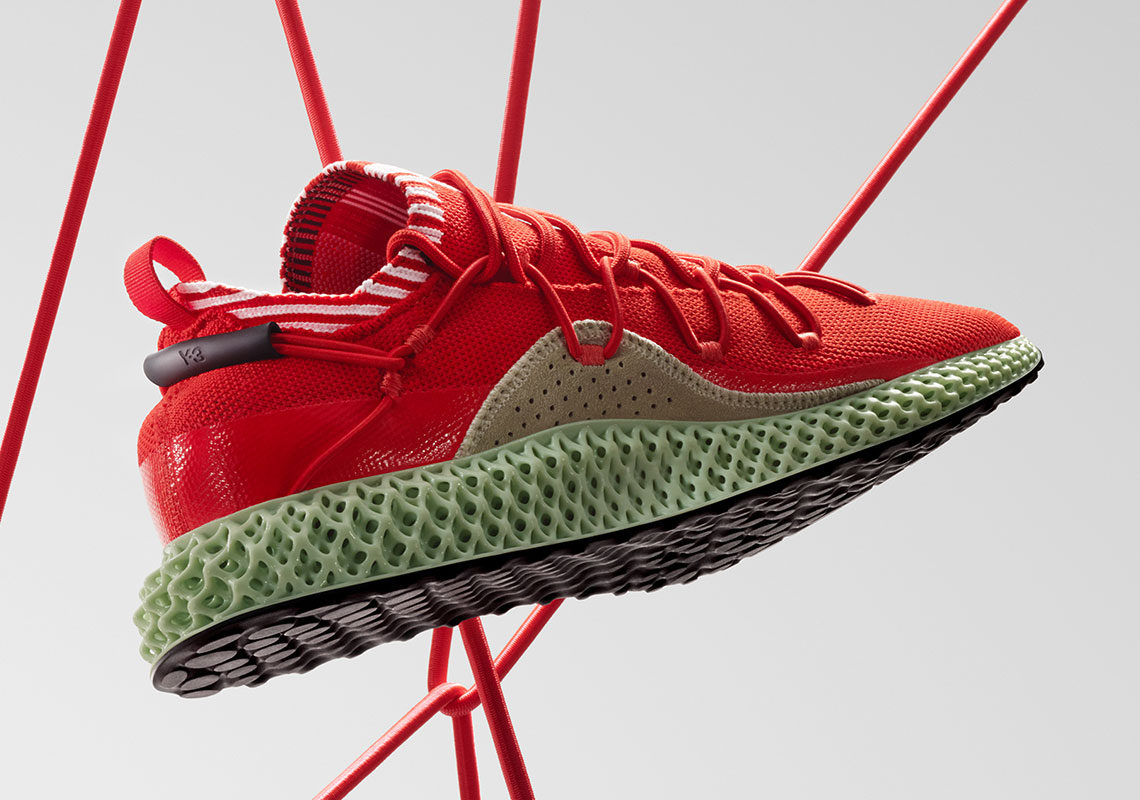 adidas Y3 Runner 4D Red SS19 F99805 Release Info