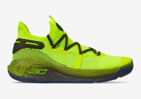 "UA Curry 6 ""Hi Vis Yellow"" Releases At The Start Of All-Star Weekend"
