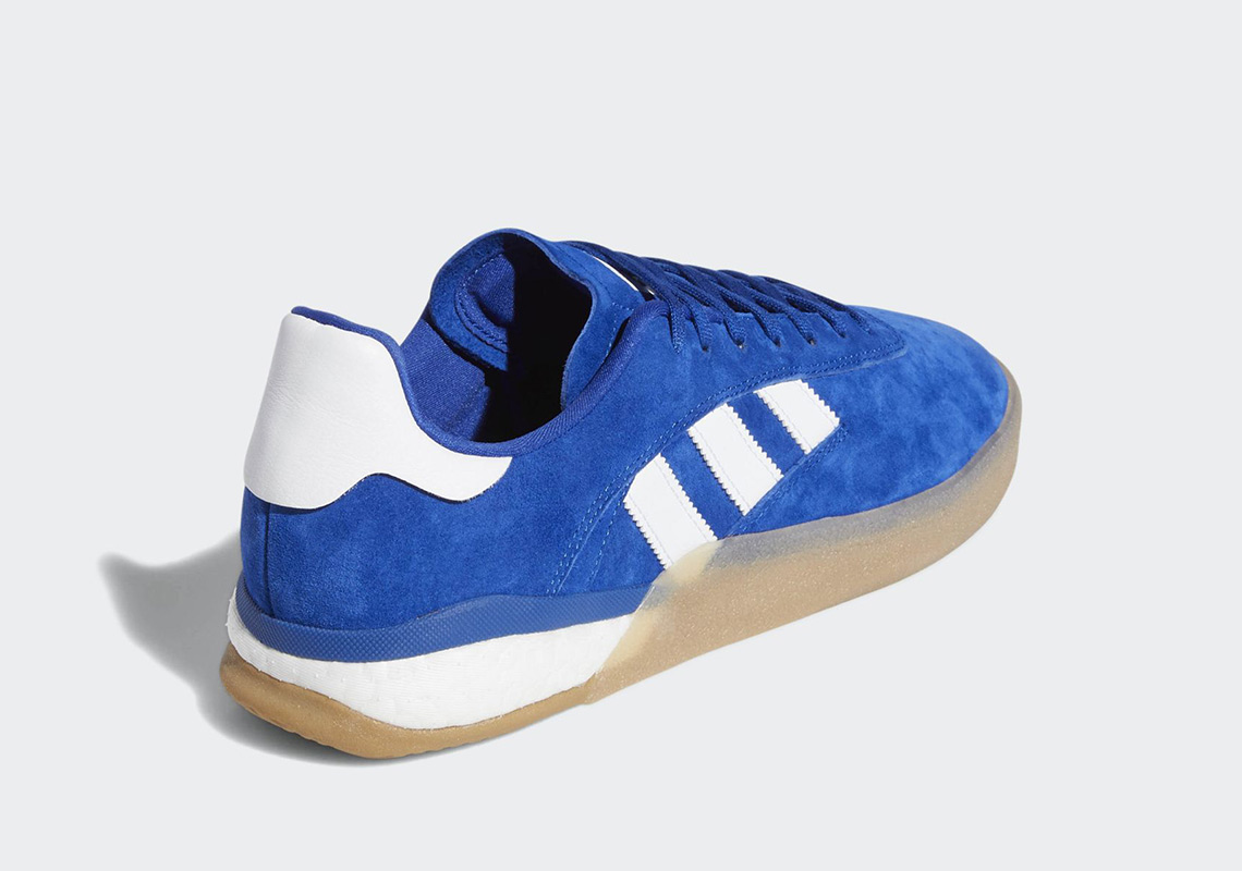 new arrival 2779b 3ace4 adidas 3ST.004. Release Date February 7th, 2019 120. Color Collegiate  RoyalCloud WhiteAntique Silver Style Code DB3552