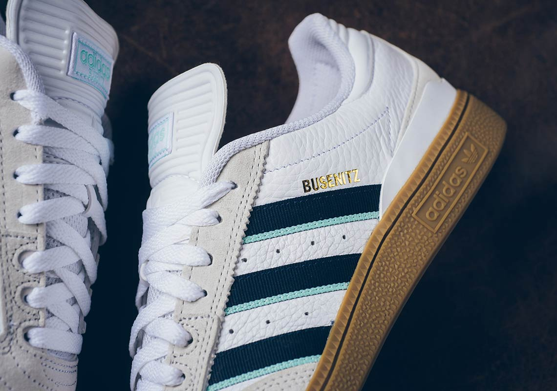Adidas Busenitz White Navy Gum Store List Sneakernews Com