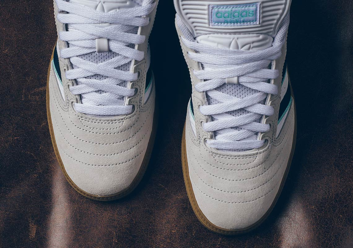fda27b9e adidas Busenitz White Navy Gum Store List | SneakerNews.com