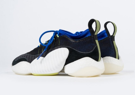 6b0fe1427fe5 adidas Crazy BYW LVL 2 Arrives In Black And Royal