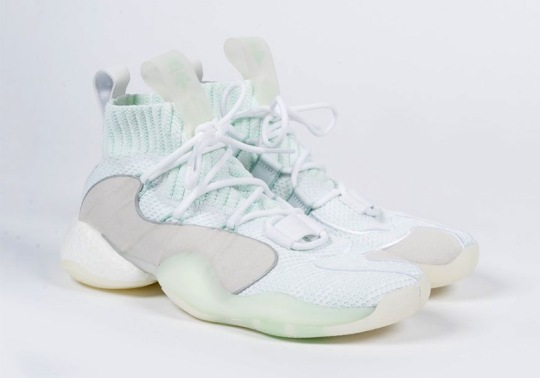 adidas Crazy BYW X Lands In A Cool Ice Mint Colorway