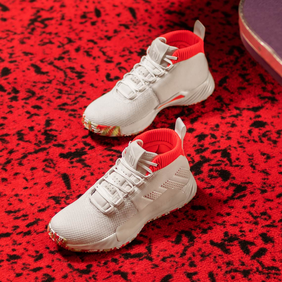 "sports shoes fbc36 fedf3 adidas Dame 5 ""All-Skate"" A nod to Dame s time at roller rinks while  growing up in Oakland Release Date  February 1, 2019"