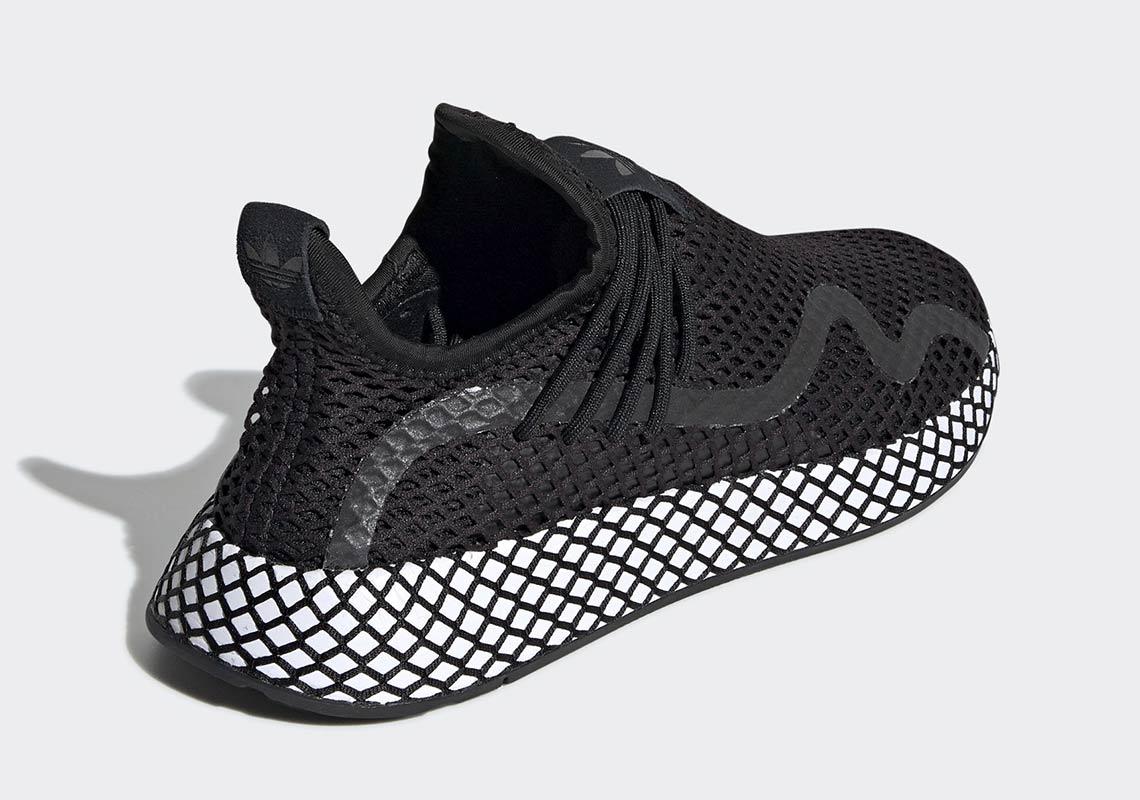2462e81cb0d47 adidas Deerupt S Black White BD7879 Release Date