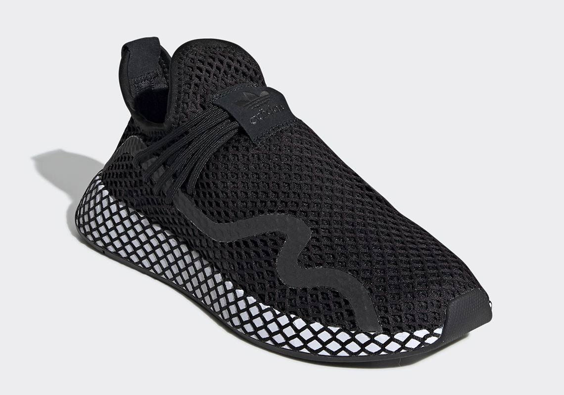 low priced 05515 35a85 adidas Deerupt S Black White BD7879 Release Date  SneakerNew