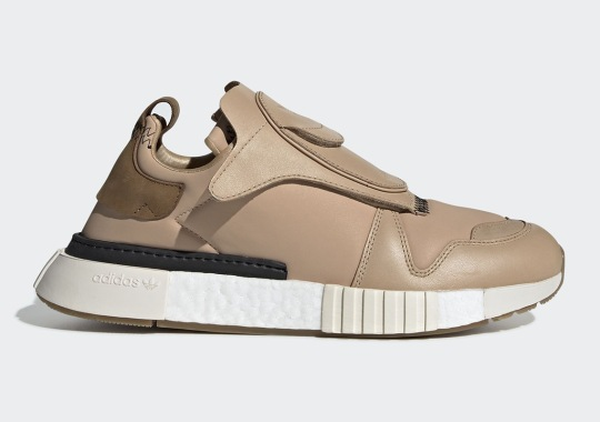 The adidas Futurepacer Returns With Neutral-Toned Leather Uppers