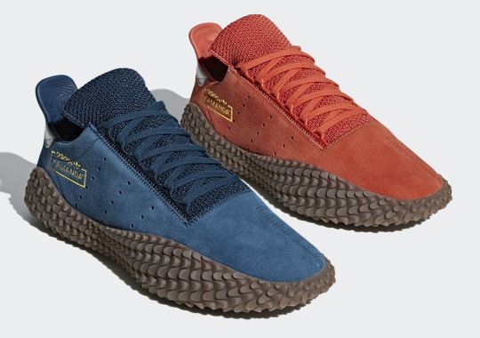 The adidas Kamanda Returns With New Suede Colorways
