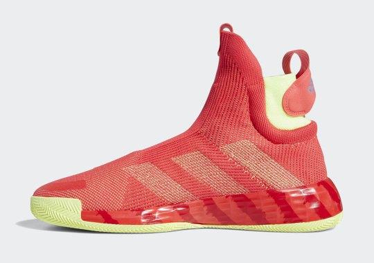 best service 7b1d9 38d15 adidas Bathes The N3XT L3V3L In Shock Red
