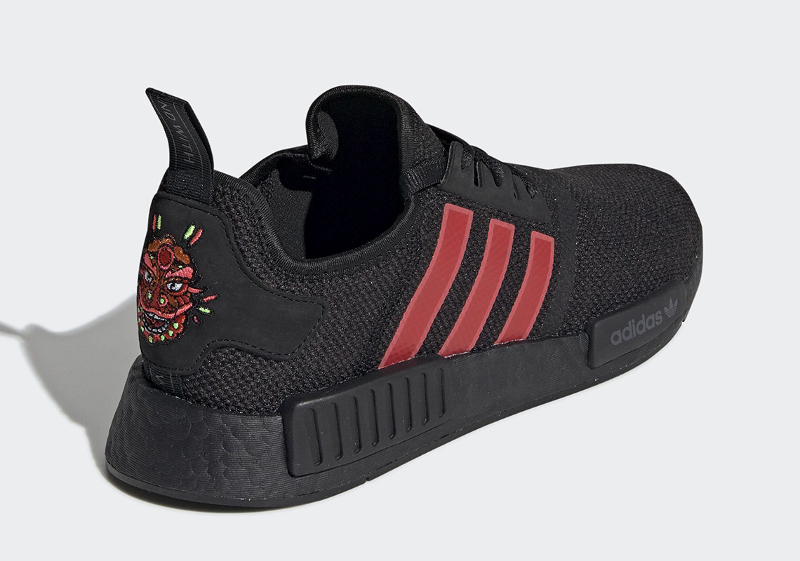 41054e075 The adidas NMD R1 Celebrates Chinese New Year With Inspired Colorway