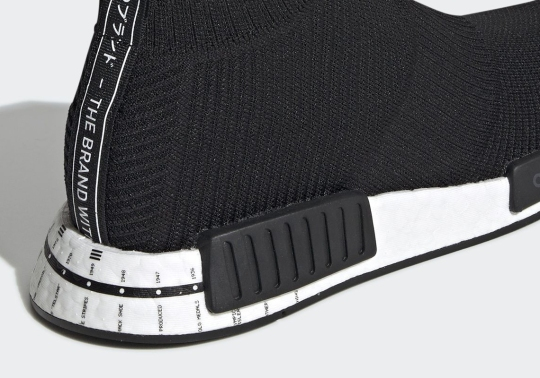 This adidas NMD CS1 Features The Brand's Entire Timeline On The Heel
