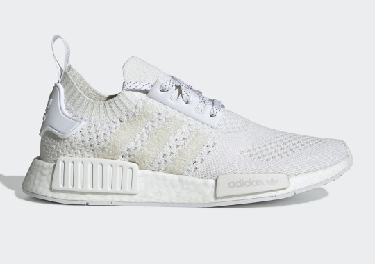 """91f1a0a6223 The adidas NMD R1 """"Triple White"""" Returns With A Familiar Pattern"""