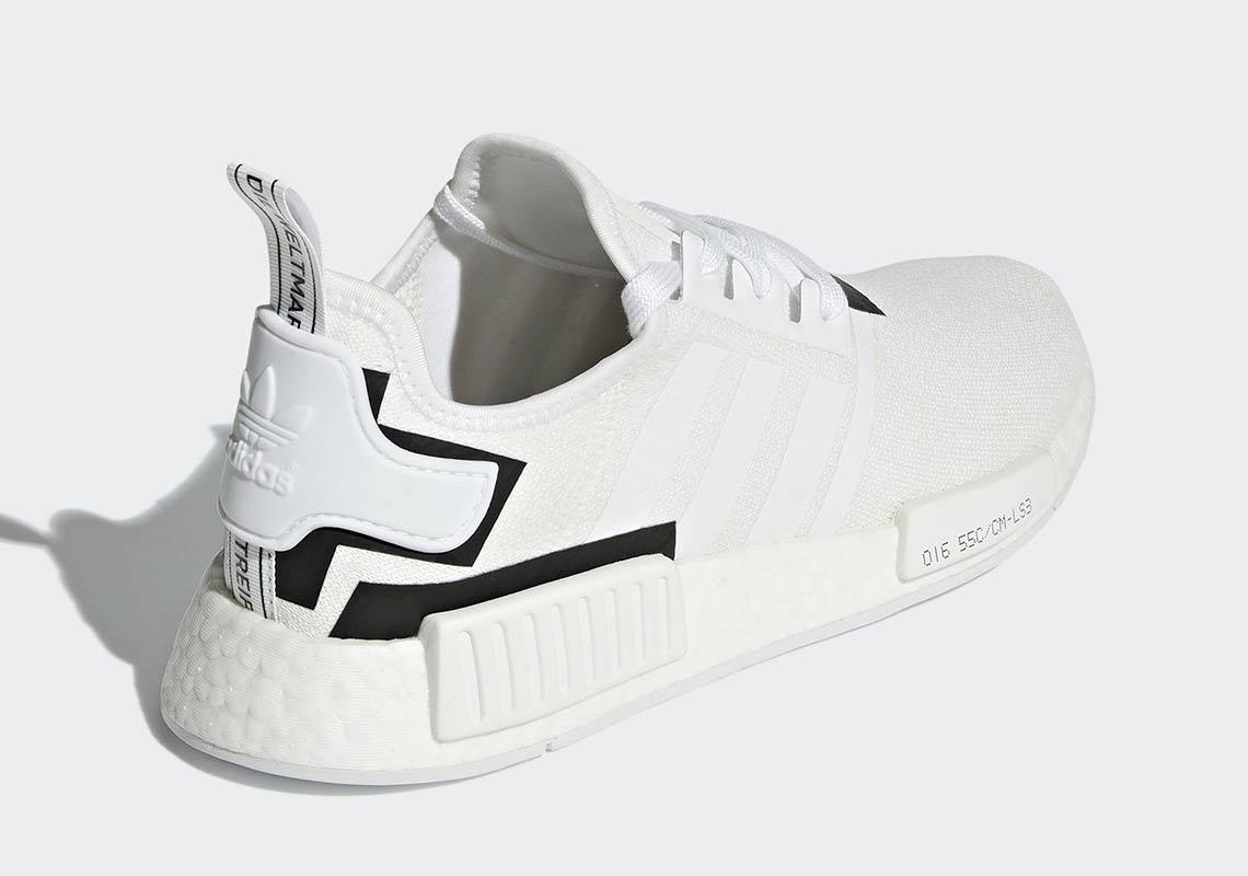 Adidas NMD R1 Cloud White Core Black