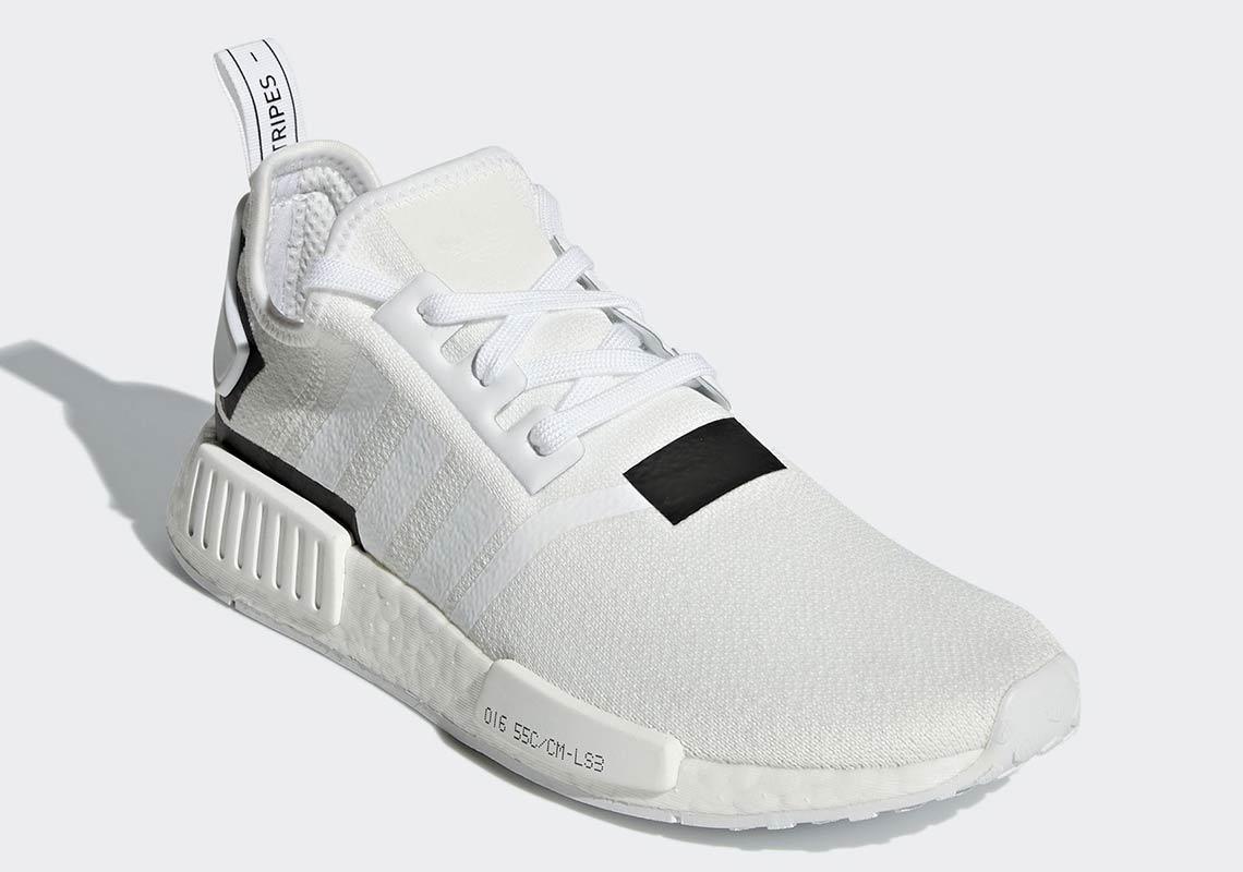 sale retailer 7bef5 d3dfa adidas NMD R1 Colorblock White Black BD7741 Info ...