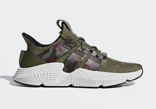 The adidas Prophere Is Back With Camo-Print Stripes