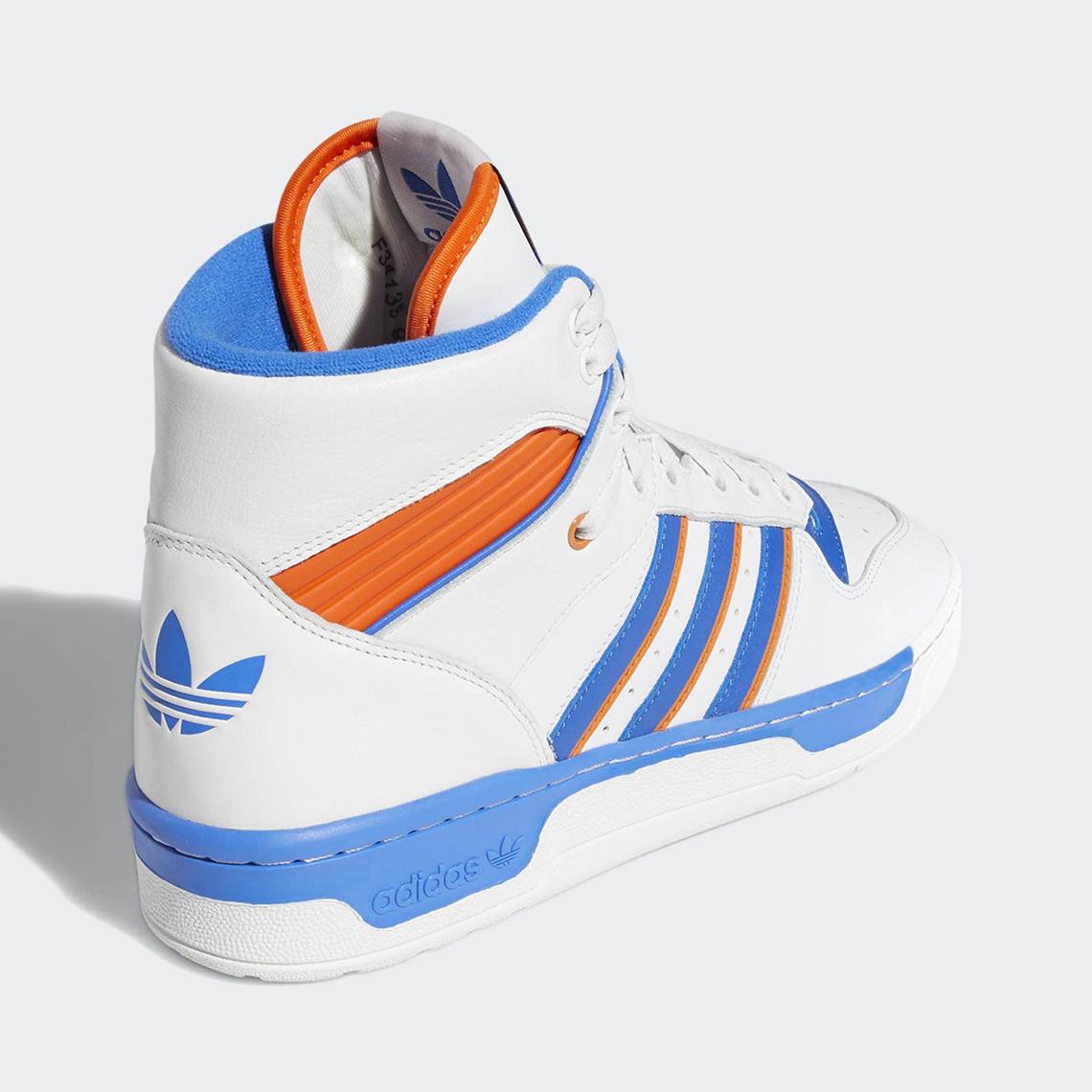 adidas Rivalry Hi Style Code  F34139 (Knicks) Style Code  BD8021 (Black  White) 0b302f947697