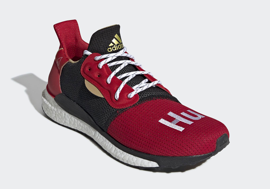 "92af4efbcd12b Pharell x adidas SOLAR HU ""Chinese New Year"" Release Date  January 26th"