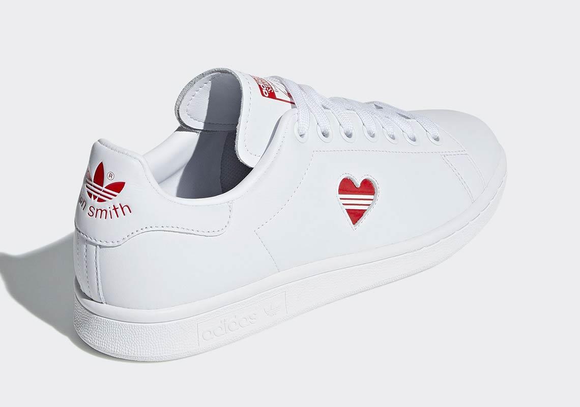 adidas originals stan smith heart
