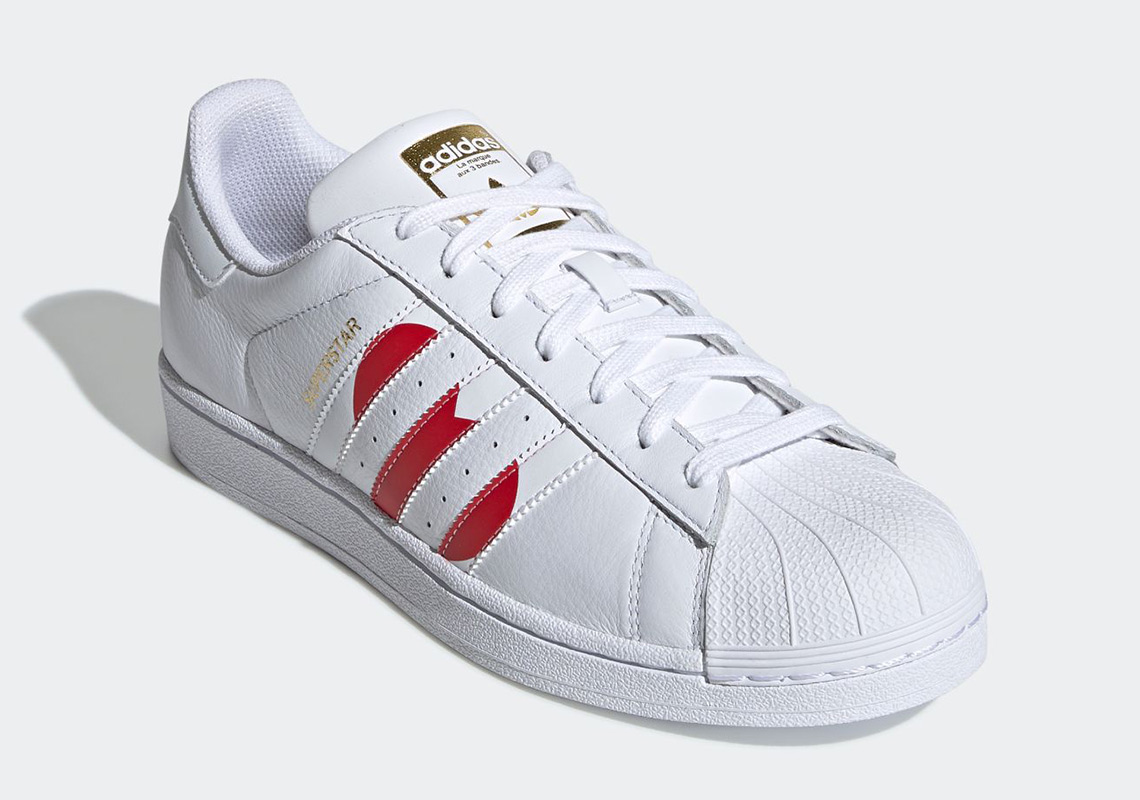 finest selection ca185 d7aaa adidas Superstar Valentines Day EG3396 Release Info ...