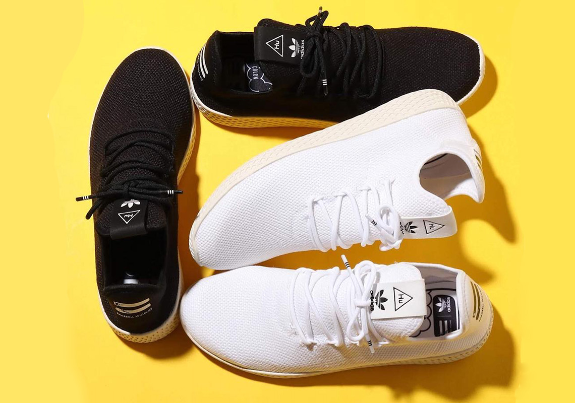 Pharrell s adidas Tennis Hu Is Back For More In 2019 93115764b
