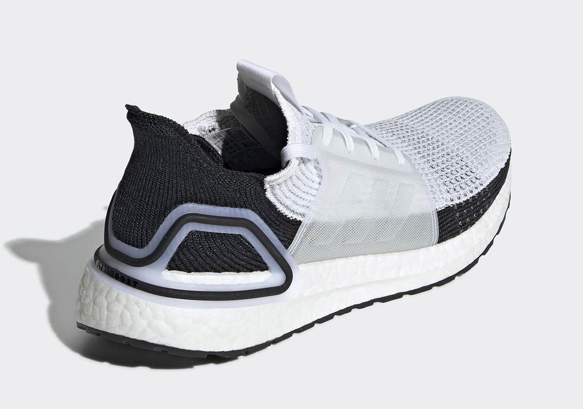 adidas Ultra Boost 2019 White + Black