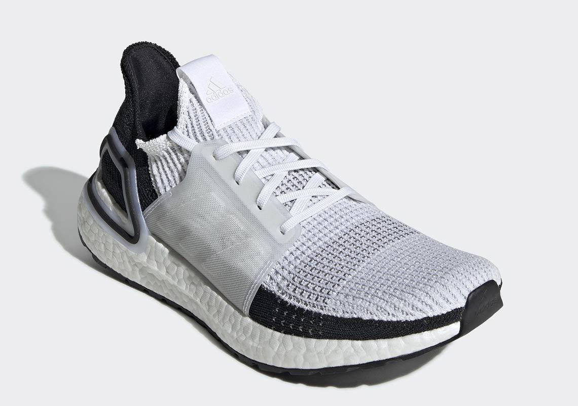 b1d46a17d34b8 adidas Ultra Boost 2019 White + Black Release Date