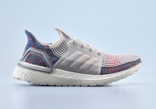 """The adidas Ultra Boost 2019 """"Refract"""" Is Inspired By The Original Triple-White"""