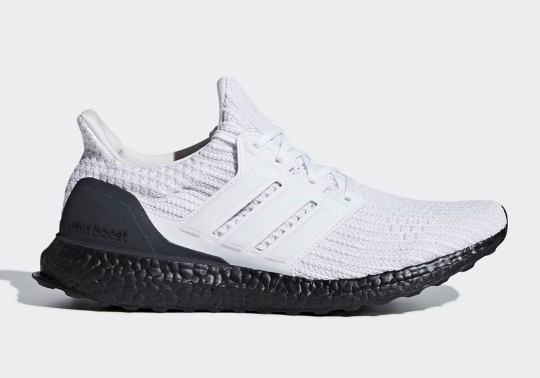 The adidas Ultra Boost Is Dropping In A Timeless White And Black