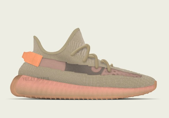 "The adidas Yeezy Boost 350 v2 ""Clay"" Is Releasing In 2019"
