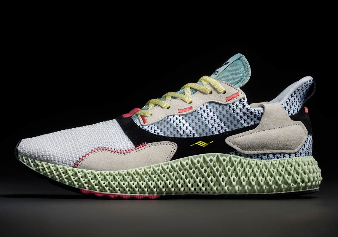 new style 93182 bca94 The adidas ZX4000 4D Releases February 9th