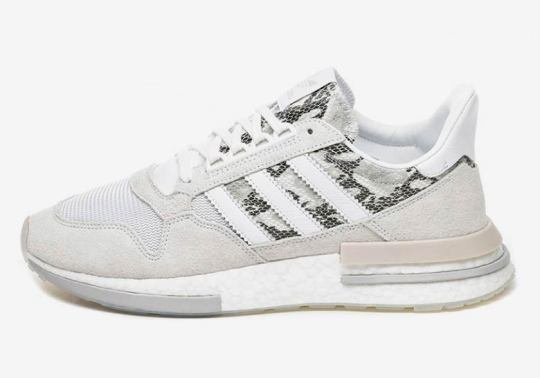 The adidas ZX 500 RM Gets Snakeskin Detailing